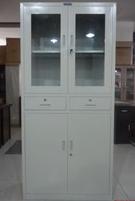 合肥鐵藝文件柜玻璃檔案柜組合大器械柜出售