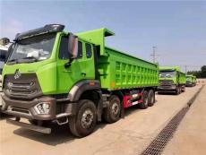 新型環保豪瀚國六440馬力渣土車價格圖片