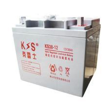 克雷士铅酸蓄电池KS38-12 12V38AH直流屏用