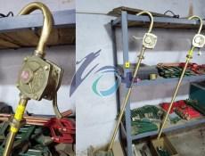 遼寧時佳牌防爆手搖油泵 鋁青銅鈹青銅無火