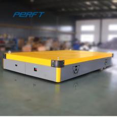 定做工業車間電動平板搬運車 15t遙控地平車