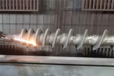 螺旋軸噴涂碳化鎢強化涂層