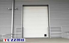 南通新廠房電動升降工業提升門