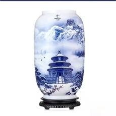 冬奧瑞雪迎春藝術珍藏瓷瓶
