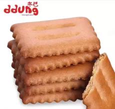 冬己小枕头咸蛋黄红豆韧性饼干