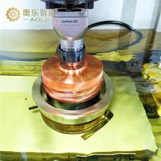 斜齒輪蝸桿模具鑲件放電加工