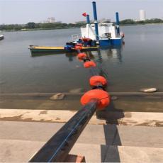 中密度聚乙烯抽沙管浮体6寸夹电缆线浮桶