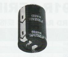 江海電解電容現貨 江海焊針式鋁電解電容CD