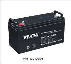 威馬蓄電池WM12-150 12V150AH技術參數