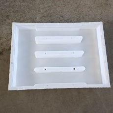 水泥U型槽蓋板模具 預制排水U型槽蓋板模具