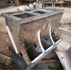 新型水泥三孔豬食槽模具 豬食槽鋼模具價格