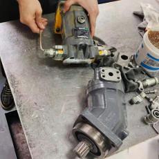 維修汽車吊油泵A4VG71 A2FM28