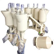 直銷螺旋12工位橡膠密封條輔料配料機