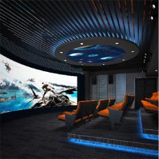 5D智能動感影院  利用座椅特效和環境特效