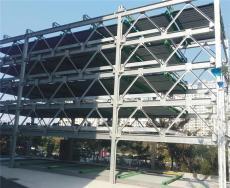 广州出售升降横移四层立体车库定制高端塔库