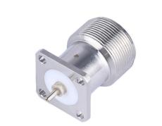 C1103插座 加工定制焊板式C型連接器 半剛性