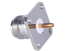 C1301天線對講法蘭固定式連接器RF射頻同軸