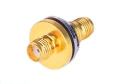 SMA-KYKM印制線路板連接器 螺紋連接 天線座
