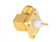 供應SMA-KWFD10 印制線路板連接器 90度彎頭