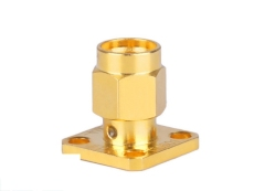 SMA-JFD16印制線路板連接器 膠封高頻連接器