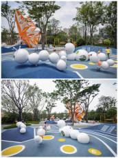 杭州游樂場不銹鋼毛毛蟲雕塑 彩繪動物定制