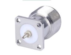 C1103焊板RF连接器 加工定制RF射频同轴插座
