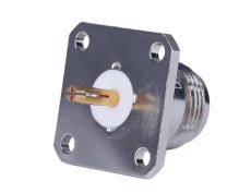 天线对讲C1301法兰固定连接器 RF同轴连接器