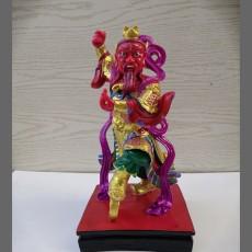 16寸王灵官神像 四大灵官佛像雕塑