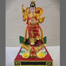九天玄女娘娘神像图片 汉白玉塑像厂家