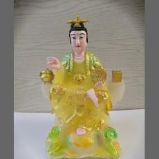 地母娘娘佛像 后土圣母神像 树脂雕塑