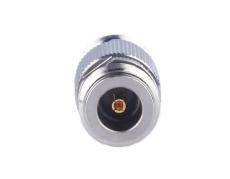 N座双头螺纹连接器 N-KK对接RF射频同轴插座