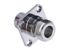 加工定制N-KF3A螺纹RF射频同轴连接器半刚性