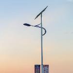 灤平農村太陽能路燈小區led路燈廠家