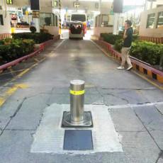 全自动伸缩挡车柱 液压升降路桩厂家