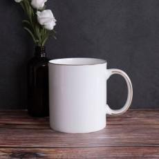 达美瓷业简约骨瓷马克杯