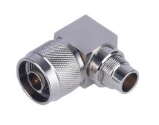 90度N-JW7连接器 半刚性N型RF射频同轴插座