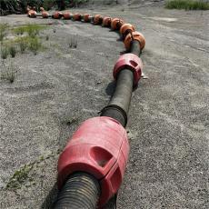 海上吹沙填海管道浮體采砂船夾管浮筒說明