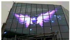 成都商用透明LED屏的主要优势概括