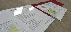 通信光纜保護磁磚標志牌田間工程磁磚公告牌