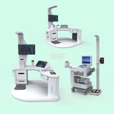 健康小屋体检机hw-v9000智能体检一体机