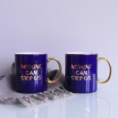 批發陶瓷水杯 創意骨瓷馬克杯 定制廣告杯