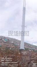 通訊塔燈桿塔信號傳播塔樓頂抱桿增高架