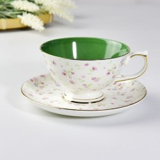 达美瓷业骨瓷咖啡杯碟套装 礼品下午茶具