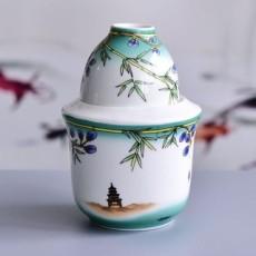 达美瓷业陶瓷家用温酒器骨瓷暖酒壶烫酒杯套