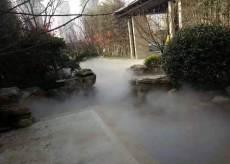 小區公園景觀霧森系統人造霧噴設備設計安裝