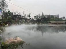 湖北武汉景区舞台园林雾森系统造雾工程安装