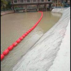 電站進水口柔性漂浮攔污柵大距離攔漂裝置
