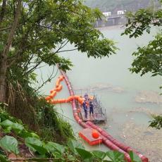 水電站高效攔截漂浮物浮動式攔污排裝置