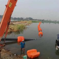新型聚乙烯浮體橘紅色管線浮漂生產廠家