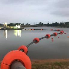 圓柱體塑料浮體12寸挖泥船膠管浮筒價格